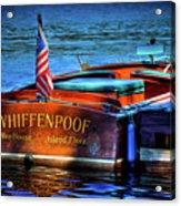 1958 Chris Craft Utility Boat Acrylic Print