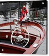 Chris Craft Sportsman Acrylic Print