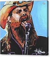 Chris Stapleton Acrylic Print
