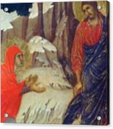 Christ Appearing To Mary Magdalene Fragment 1311 Acrylic Print