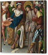 Christ Before Pilate Acrylic Print