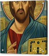 Christ Blessing - Jccbl Acrylic Print