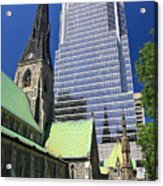 Christ Church Cathedral Montreal Acrylic Print