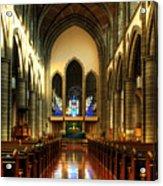 Christ Church Cathedral Victoria Canada Acrylic Print