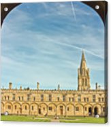 Christ Church College Oxford Acrylic Print