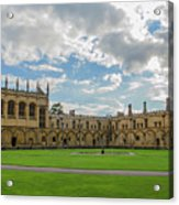 Christ Church Tom Quad Acrylic Print