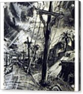 Christ Consciousness Acrylic Print by Richard Mclean