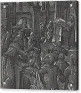 Christ Disputing With The Doctors Acrylic Print