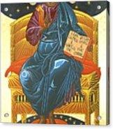 Christ Enthroned Icon  Acrylic Print