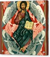 Christ Enthroned - Rlcen Acrylic Print