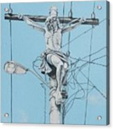 Christ From Mexico Acrylic Print