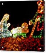 Christ Is Christmas Acrylic Print