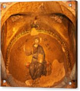 Christ Mosaic Acrylic Print
