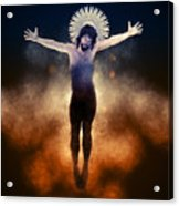 Christ Of The Cosmos Acrylic Print