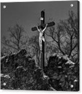 Christ On The Cross 002 Acrylic Print