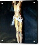 Christ On The Cross After Peter Paul Rubens Acrylic Print