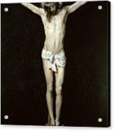 Christ On The Cross Acrylic Print
