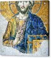 Christ Pantocrator Acrylic Print by Dean Harte