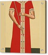 Christ The King The Bridegroom 066 Acrylic Print