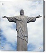 Christ The Redeemer Acrylic Print by Paul Landowski