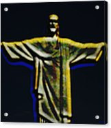 Christ The Redeemer - Rio Acrylic Print