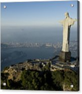 Christ The Redeemer Statue Acrylic Print by Joel Sartore