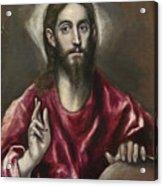 Christ The Saviour Acrylic Print