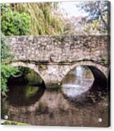 Christchurch - Bridge Over The Millstream Acrylic Print