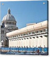 Christian Science Church Acrylic Print