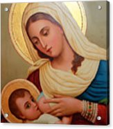 Christianity - Baby Jesus Acrylic Print