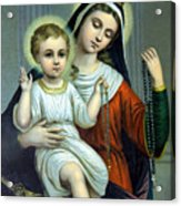 Christianity - Holy Family Acrylic Print