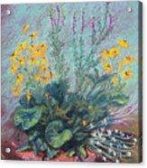 Christina's Garden Acrylic Print