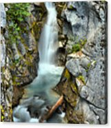 Christine Falls In The Canyon Acrylic Print