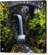 Christine Falls - Mount Rainer National Park Acrylic Print