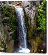 Christine Falls Mt Rainier Acrylic Print