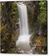 Christine Falls Mt Rainier Washington Acrylic Print