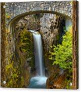 Christine Falls Through The Trees Acrylic Print