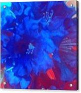 Christine's Bouquet Acrylic Print