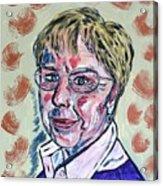 Christl Acrylic Print