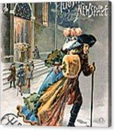 Christmas, 1890 Acrylic Print