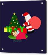Christmas #2 No Text Acrylic Print