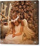 Christmas Angel Acrylic Print