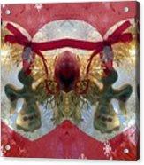 Christmas Angel Magic Acrylic Print