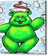 Christmas Bear Acrylic Print
