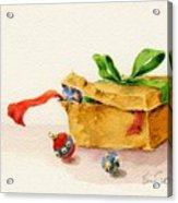 Christmas Box Acrylic Print