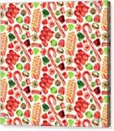 Christmas Candy Acrylic Print