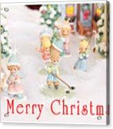 Christmas Card 5 Acrylic Print