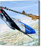 Christmas Carol Acrylic Print by Charles Taylor