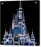 Christmas Castle Acrylic Print