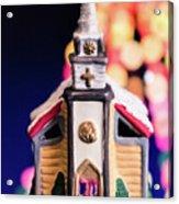 Christmas Chapel 2 Acrylic Print